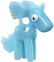 Angel figure voodoo blue