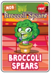 Collector card s3 broccoli spears