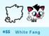 White Fang moshi bandz