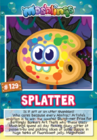 Collector card s10 splatter