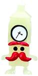Mini Ben figure ghost white