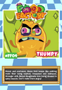 Collector card food factory thumpy