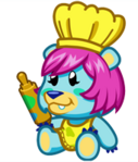 Cupcake the Scare Bear
