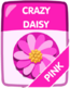 Pink Crazy Daisy