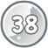 Level 38 icon