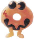 Oddie figure pumpkin orange