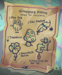 Glumping Potion