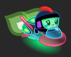 File:Moshi Karts moshlings neon Captain Squirk.png