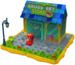 Bobble Bots playset Gross-ery Store