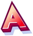 WallScrawl Alphabet - A