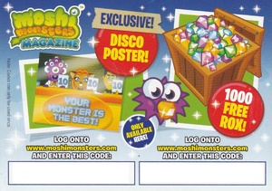 Issue 16 Code Card Back