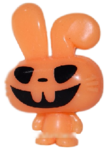 Honey figure pumpkin orange