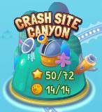 MR Crash Site Canyon map