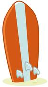 Tiki Surfboard Door