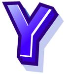 WallScrawl Alphabet - Y