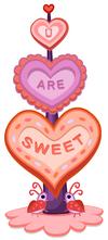 Valentines Heart Tower