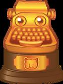 Daily Growl Typewriter Award