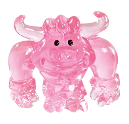Lummox figure squishy pink