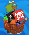 Cap'n Bucks Ship Wallpaper 2