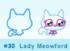 Lady Meowford moshi bandz