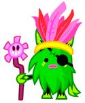 Green Hoodoo Honcho