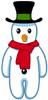 Twistmas Cuddly Snowman