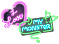 Love My Monster Neon Sign