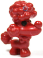 Fifi figure bauble red