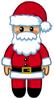 Twistmas Cuddly Santa