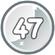 Level 47 icon