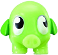 Mr Snoodle figure scream green