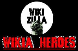 Wikia Heroes Logo