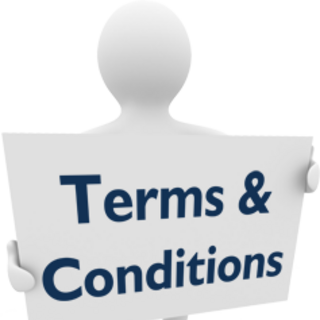 The Terms and Conditions form used by the Nightmare Men during the second trial.