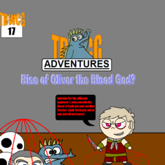 After springing his magical trap, Oliver took blood from The Boy and Thomas Hardy to regain his human form and to become a blood god with enhanced Twisting abilities.