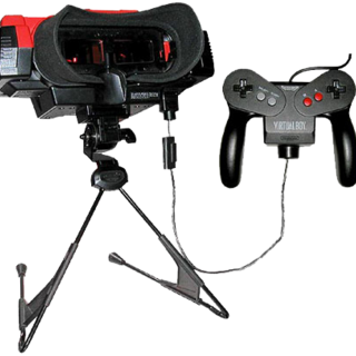 The Virtual Boy form used by the Nightmare Men during the third trial.