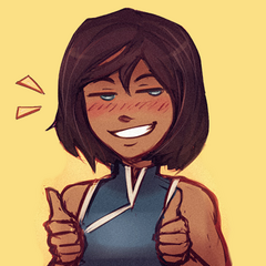 ayy. artwork by KYHU for korra-san. circa... some time after wikizilla.org