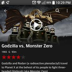 Netflix's hilarious photo for Godzilla vs. Monster Zero. Feb. 27 2015 17:07:10.