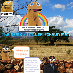 Zippy and Mulder travel across the countryside as they hunt down Leprechaun Man.