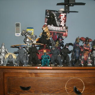 My collection in 2011 in my old house.