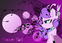 Dramatic grown-up flowertart by flowertartanon