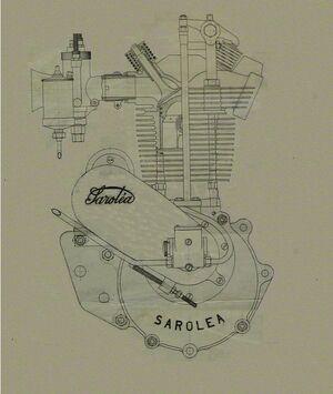 Sarolea Zeichnung Motor 23U