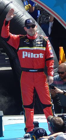 File:Michael Annett at the Daytona 500.JPG