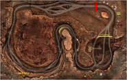 The Mudpool track map