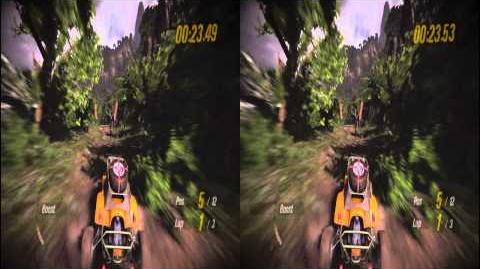 Sony Playstation 3 MotorStorm Pacific Rift 3D Trailer in Stereoscopic 3D 720p TRU3D