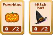 Haunted School - Stage 1 Items