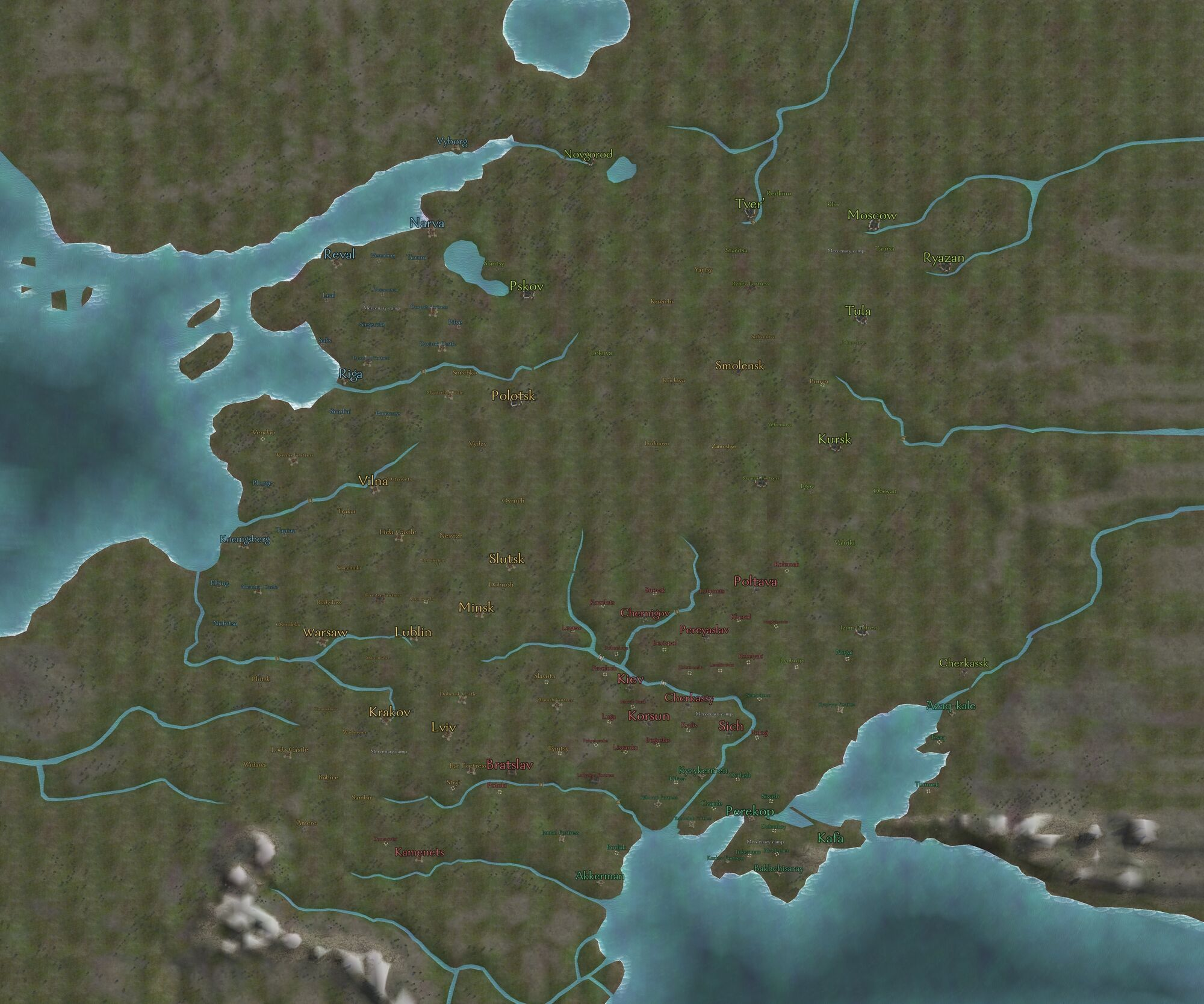 Overland map mount and blade wiki fandom powered by wikia mbwfas map gumiabroncs Choice Image
