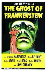 220px-The Ghost of Frankenstein movie poster