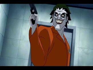 Batman Under the Red Hood Joker Black Mask scene