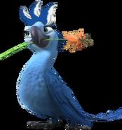 Jewel's Blue Hair