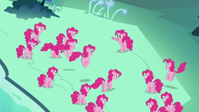 File:Pinkie Pie tells her clones S3E03.jpg